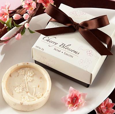 Sabonete com Aroma de Flor de Cerejeira