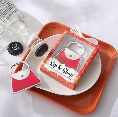 Abridor de garrafas em forma de Coração Cor de Rosa