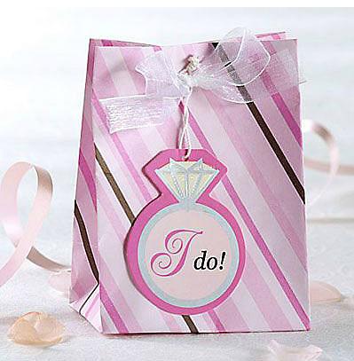Mini Bolsas para Lembrancinhas de Casamentos Futura Noiva