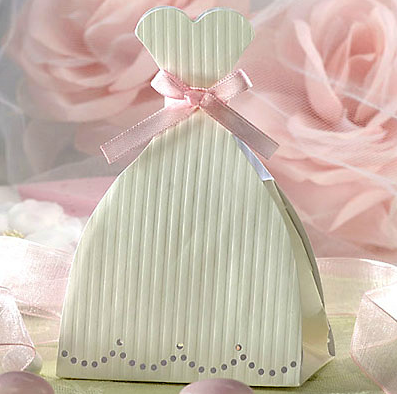 Caixas de Lembrancinha Vestido de Casamento