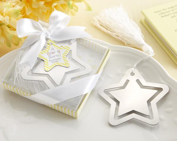 Marcador de Livro em forma de Estrela
