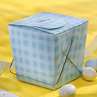 Cubo Branco Ornamental